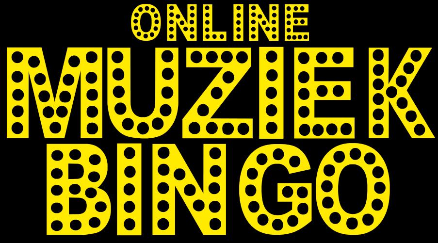 Online Muziek Bingo, gezellig online samenkomen.